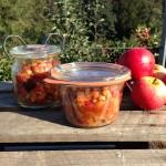 Hybenmarmelade med æbler og mandler