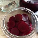 Eddikesyltede rødbeder