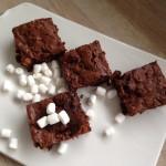 Brownie med skumfidus