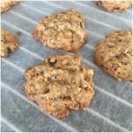 Cookies med hvid choko.