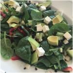 Salat m/ belungalinser