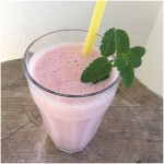 Jordbærbanan smoothie