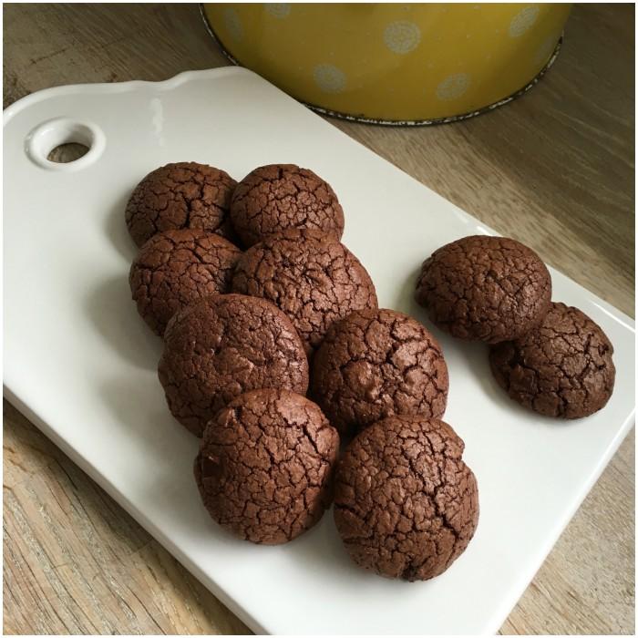 Små brownies kager