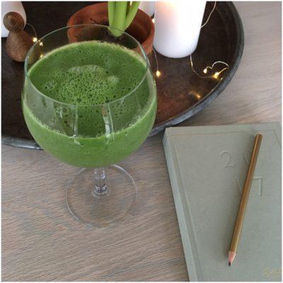 Grøn og mættende smoothie