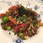 Grønsagsret m/ quinoa