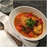 Indisk suppe m/ varme