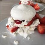 Pavlova m/ jordbær