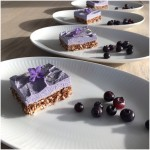 Raw cake m/ blåbærcreme