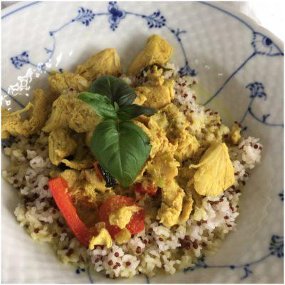 Thai curry gryde