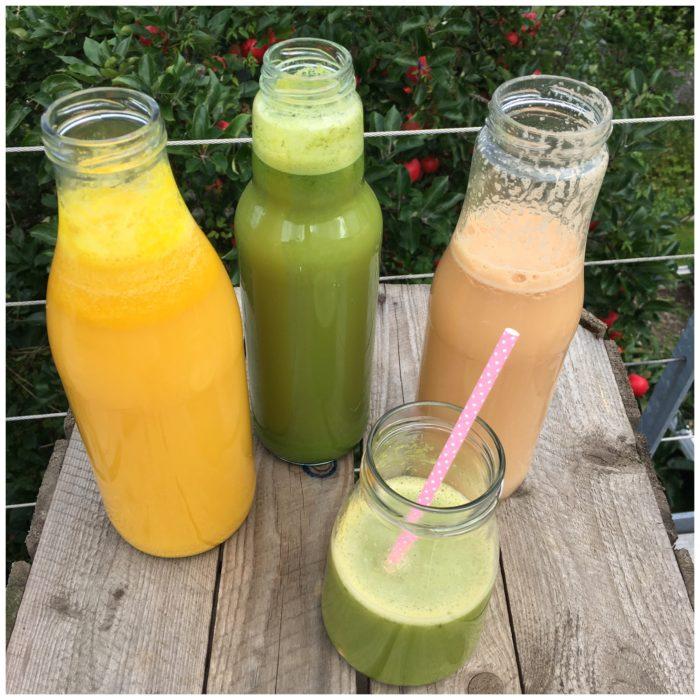 Juice med lakridssmag