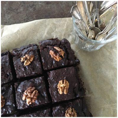 Chokolade lækker brownie