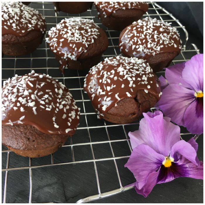 Sundere chokolademuffins