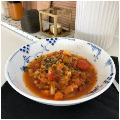 Vegansk pastasauce alt i een