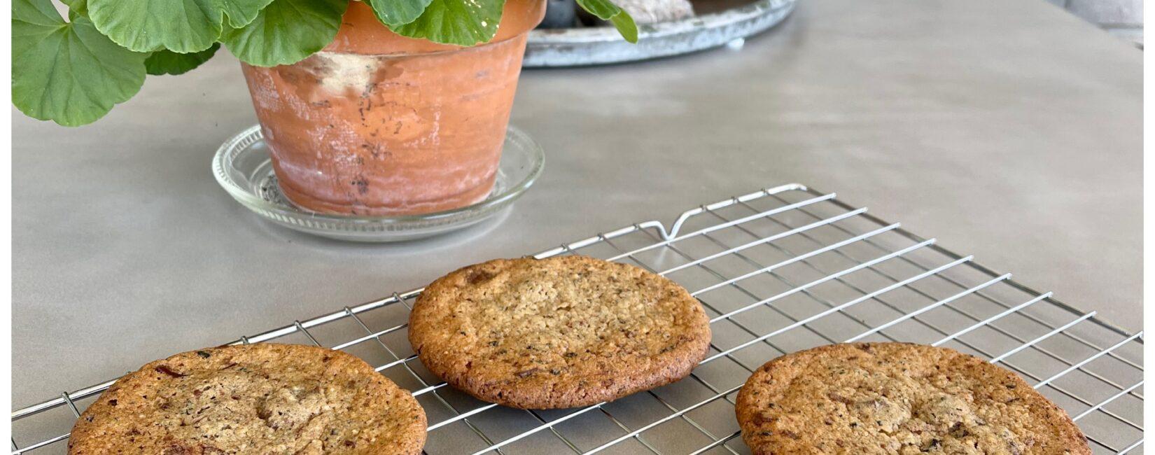 Glutenfri chokolade-lakrids cookies